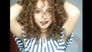 """""""How to boost your curls using Novex My Curls"""" by Jhennyfer Amorin"""