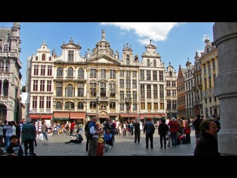 Brussels / Belgium - quickie tour across some attractions & sights HD