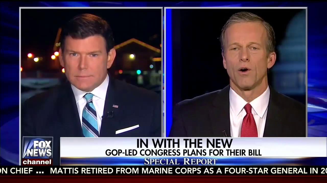 Thune: Senate won't give up on Obamacare repeal if bill fails this week