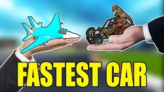 Which Vehicle Is The FASTEST? - Gmod CRAZY FUN DUPES! (Garry's Mod)