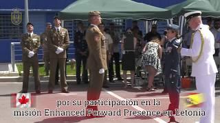 190628 Las FF.AA. canadienses condecoran a militares españoles