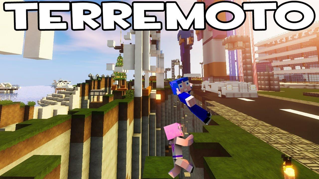 Reto de la base vs terremoto en minecraft for Blancana y mirote minecraft