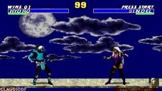 Mortal Kombat Revelations HYDRO Sega Genesis Rom Hack