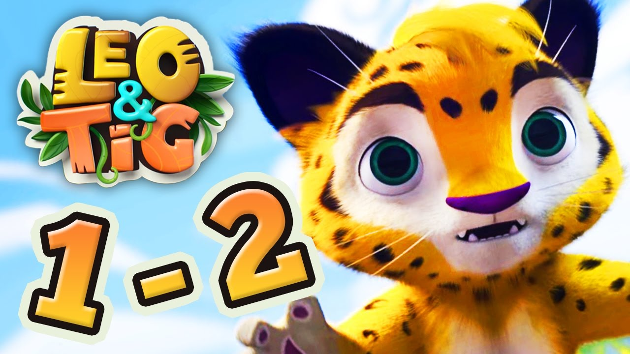 Leo and Tig all episodes cimpilation 1-2 Good Animated Cartoon for Kids Movies 2017 Moolt Kids Toons