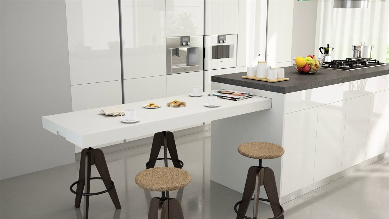 BREAKFAST Pull Out Kitchen Table