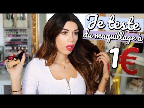 Je Teste Une Marque De Maquillage à 1€ !