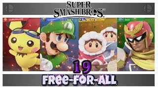 Super Smash Bros. Ultimate - Free For All [19]