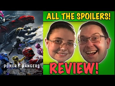"ALL THE SPOILERS! Power Rangers ""Review"" - Bryan Cranston Movie 2017"