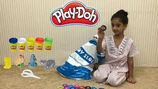 Play Doh - Playdough learning colors for kids. ice cream cake | toys for kids