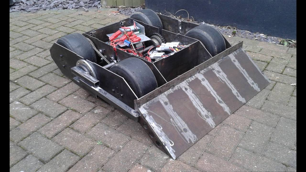 Robot Wars 2016- Shockwave Build Video