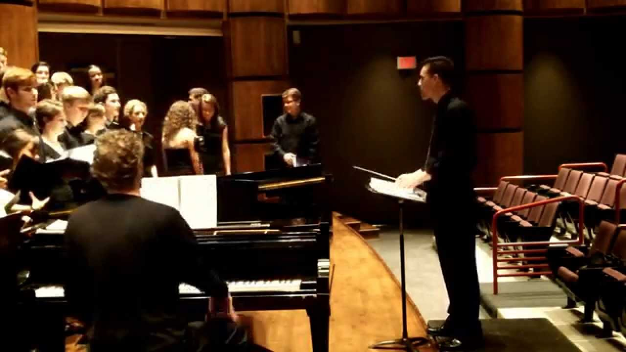 choral recital concert report Join the school of music for the men's glee club and women's chorale concert on march 21 event : recital mar 27 7:30pm uf trombone choir recital join the school of music for the uf trombone choir recital on march 27, 2018, at 7:30 pm in the university of florida percussion day will.