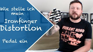 Pushking Pedals IRONFINGER Axel Ritt Signature Distortion Pedal Video 3/4 (german)