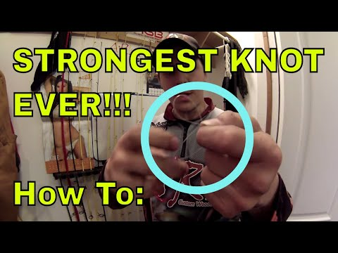 How To: The BEST And STRONGEST Fluorocarbon Knot Ever