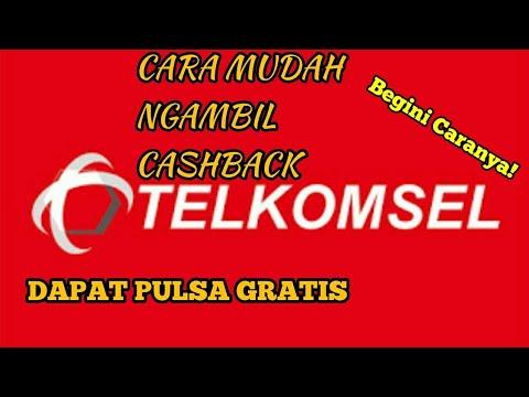 Pulsa Gratis Telkomsel Cara Mengambil Cashback Telkomsel Di Android