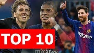 Top 10 cầu thủ xuất sắc nhất 2018