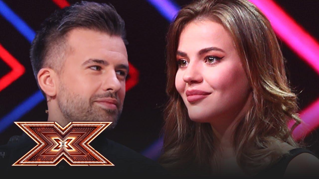 Doamne, ce apariție! Vezi cum cântă Marina Vlad piesa Fallin la X Factor!
