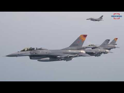 US to Sell 66 Newest F-16 Jets to Taiwan