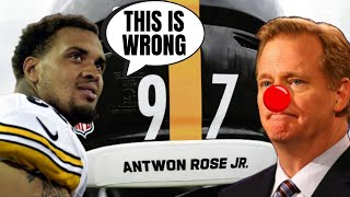 Steelers Maurkice Pouncey REFUSES To Honor Criminal | Regrets Putting Antwon Rose On Helmet!