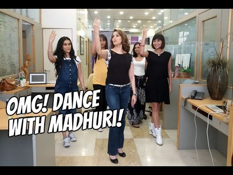 OMG I Got To Dance With Madhuri!