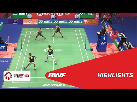 YONEX-SUNRISE HONG KONG OPEN 2018 | Badminton MD - F - Highlights | BWF 2018