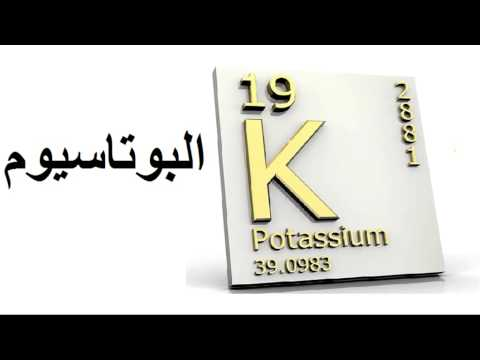 البوتاسيوم Mohamed Elfaid - Potassium