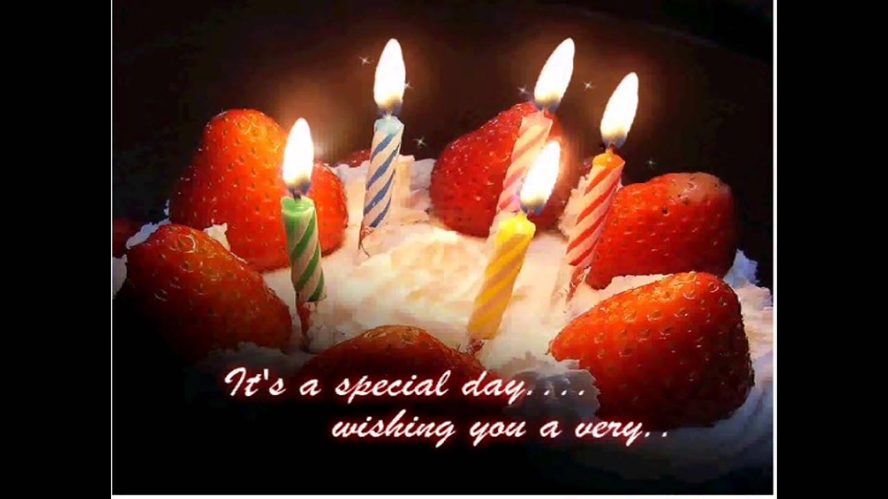 Музыкальное поздравление на английском языке с днем рождения