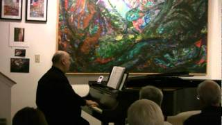 "Stephen Fierros plays ""Eintritt"" from Waldszenen, Op. 82 by Robert Schumann"