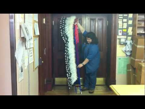 How To Pack A Feather Headdress For Shipping