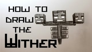Ep. 64 How to draw the Wither from Minecraft (Featuring Mr. Bug)