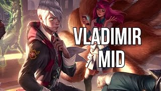 League of Legends - Academy Vladimir Mid - Full Game Commentary