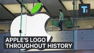 How the Apple logo changed throughout history