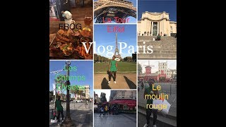 Vlog Paris ( one of the beautiful capital in the World)