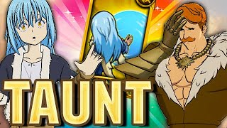 RIMURU TAUNT STOPS ESCANOR?!?! (Elite PVP) - Seven Deadly Sins: Grand Cross
