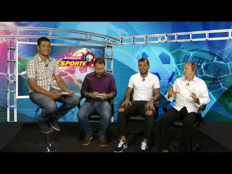 TV Banqueta - Banqueta Esporte - Felipe Augusto, atacante do Villa Nova - 13/02/2017