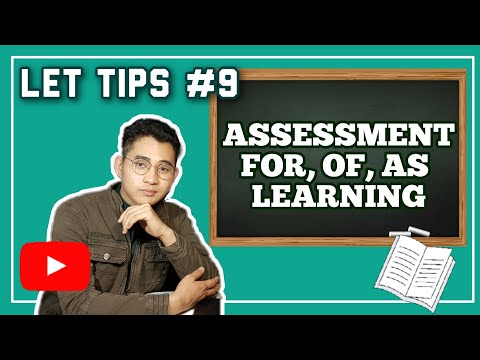 """FREE LET REVIEW   ASSESSMENT """"FOR, OF, AS"""" LEARNING"""