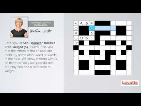 How To Do Cryptic Crosswords