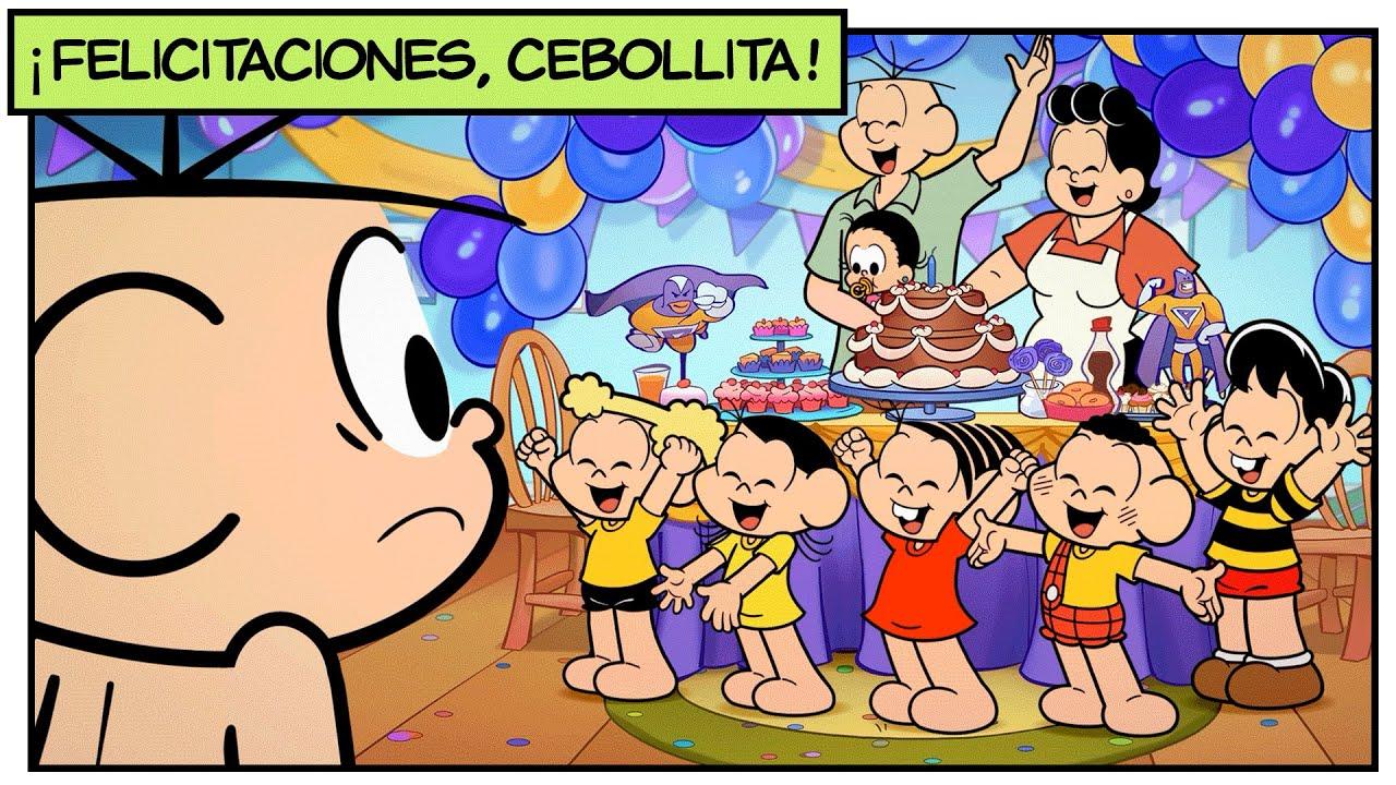 Maratón: el cumpleaños de Cebollita | Mónica y sus Amigos
