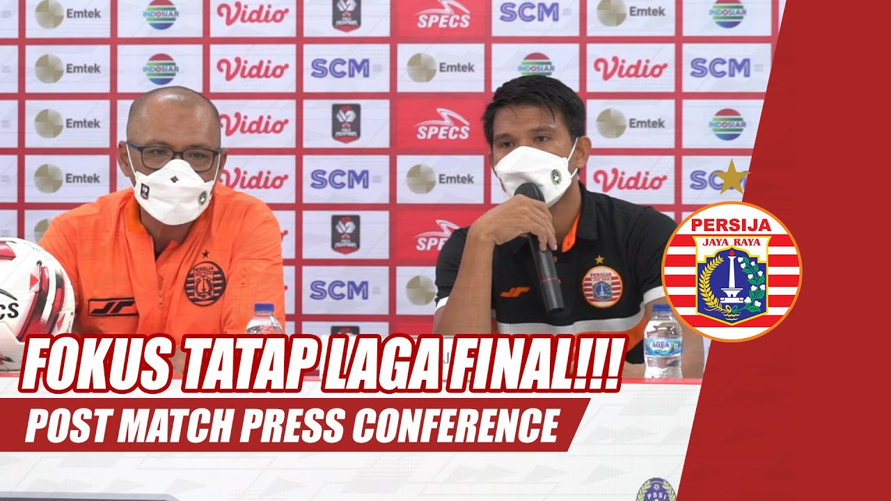 Download Post Match Press Conference | Persija Jakarta vs PSM Makassar