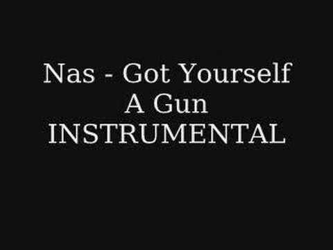 Nas - Got Yourself A Gun INSTRUMENTAL