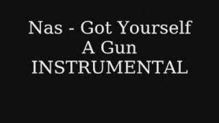 Nas - Got Yourself A Gun INSTRUMENTAL