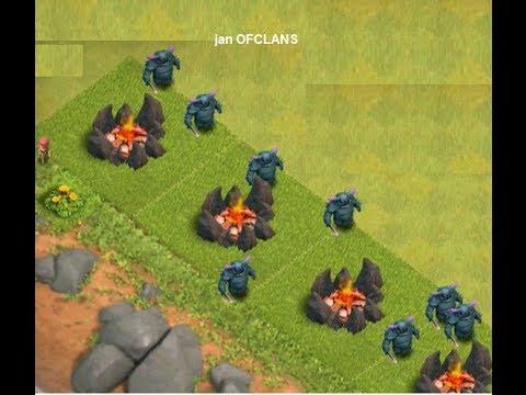 Clash of Clans - 8 P.E.K.K.A Attack
