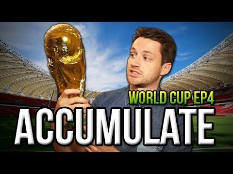 FIFA WON £108! - Spencer vs Fifa | ACCUMULATE WORLD CUP Ep4