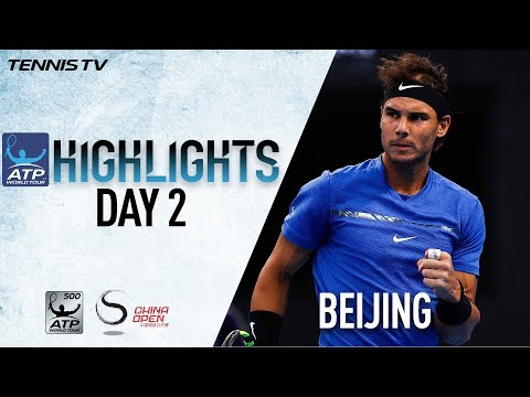Highlights: Nadal Battles, Zverev Advances On Tuesday Beijing 2017