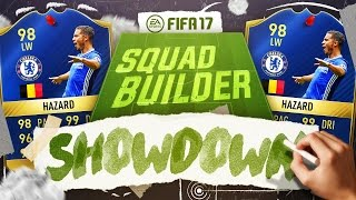 98 TOTS HAZARD SQUAD BUILDER SHOWDOWN!! FIFA 17 ULTIMATE TEAM