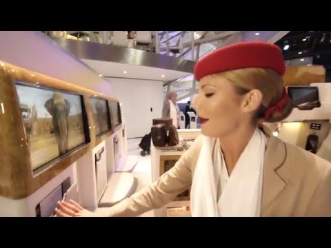 Business Class Seat Preview | Boeing 777 | Emirates Airline