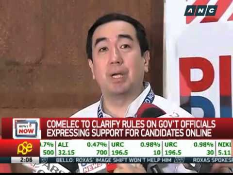 No more FB comments for gov't employees? Comelec to clarify rules