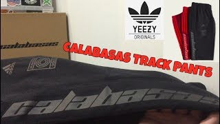 ADIDAS YEEZY CALABASAS TRACK PANTS Review (everything you need to know)
