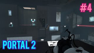 THE DIFFICULTY IS SKYROCKETING!!!! HELP!!! | Portal 2 #4