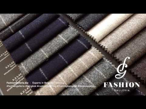 Your Tailor in Bangkok | Fashion Galleria Bangkok