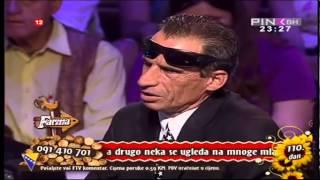 Ekrem Jevric - U studiju - Polufinale / Izbacivanje   Farma 4 - 06.07.2013